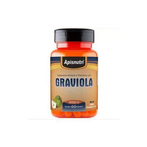 Graviola com 60 Cápsulas da Apisnutri