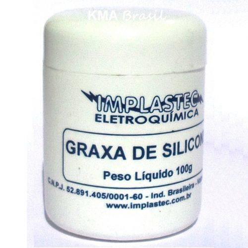 Graxa de Silicone - 100g - Implastec