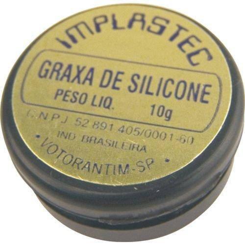 Graxa de Silicone 10g Implastec