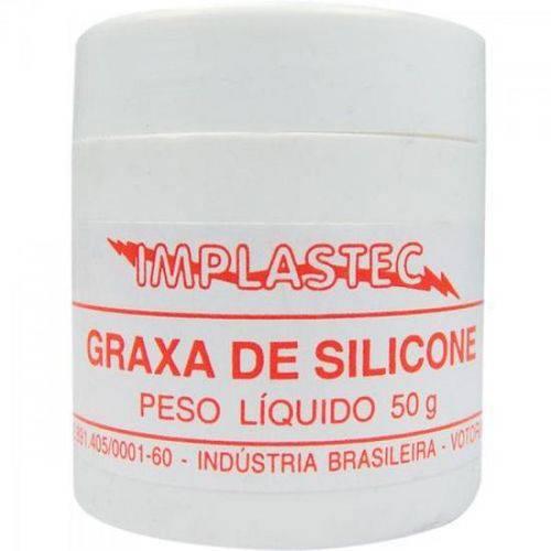 Graxa de Silicone Dielétrica 50g Implastec