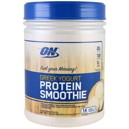 GREEK YOGURT PROTEIN SMOOTHIE 462g Baunilha Optimum Nutrition