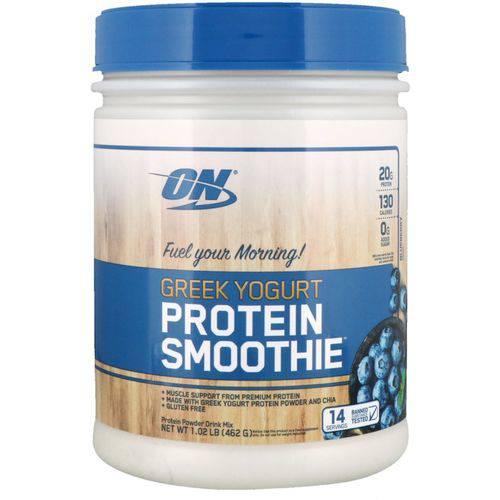 GREEK YOGURT PROTEIN SMOOTHIE 462g Blueberry Optimum Nutrition