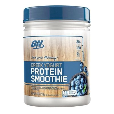 Greek Yogurt Protein Smoothie 462g Optimum Nutrition Greek Yogurt Protein Smoothie 462g Blueberry Optimum Nutrition
