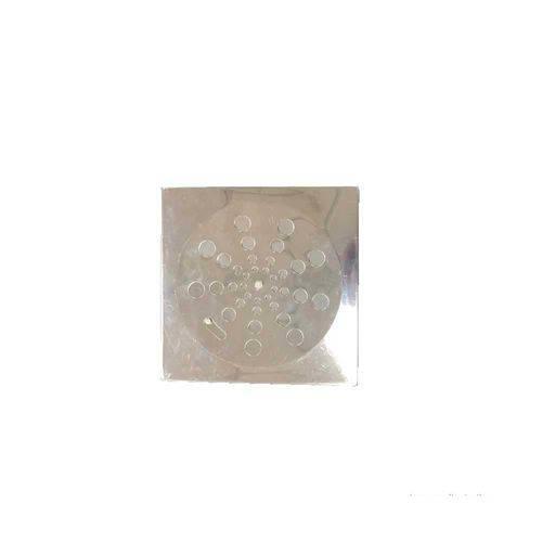 Grelha Quadrada Sem Caixilho 15x15cm com Fecho Aquainox Aquaplas