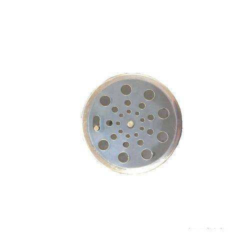 Grelha Redonda Sem Caixilho 10x10cm com Fecho Aquainox Aquaplas