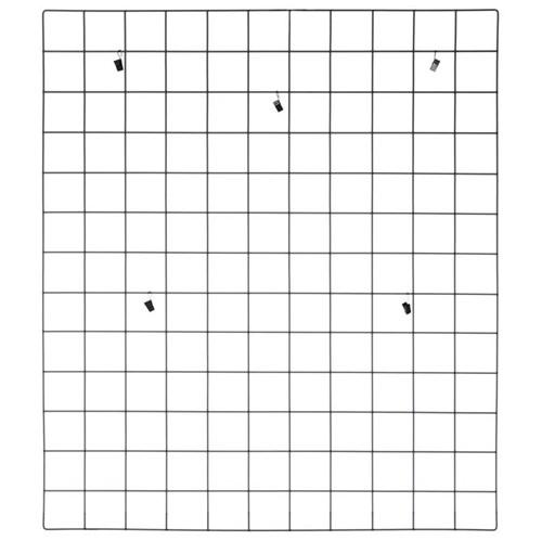 Grid Memory-board 80 Cm X 70 Cm Preto