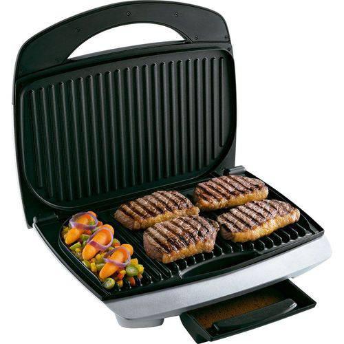 Grill Britânia Mega 2 Tamanho Família 1600w 7 Opções Temperatura 220V