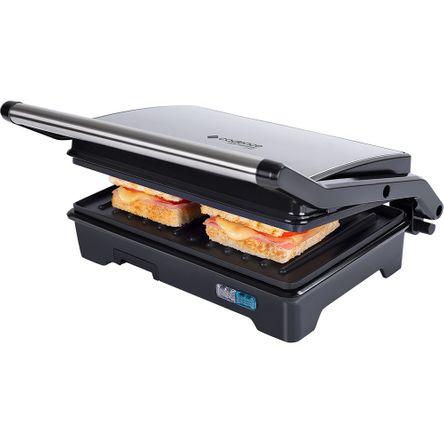 Grill Cadence Multiuso Inox Club Sandwich - 127V
