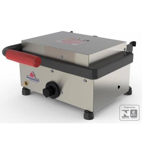 Grill Sanduicheira Elétrica Progás Inox 127V PR-220EN