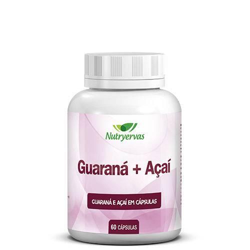 Guaraná + Açaí 60 Capsulas