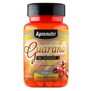 Guaraná Apisnutri 60 Cápsulas