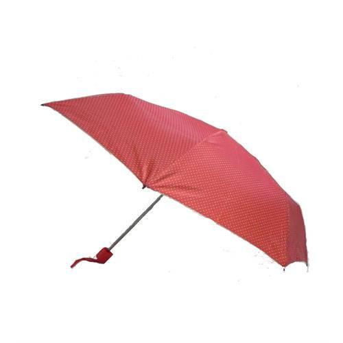 Guarda Chuva Estampa Vermelho Poa