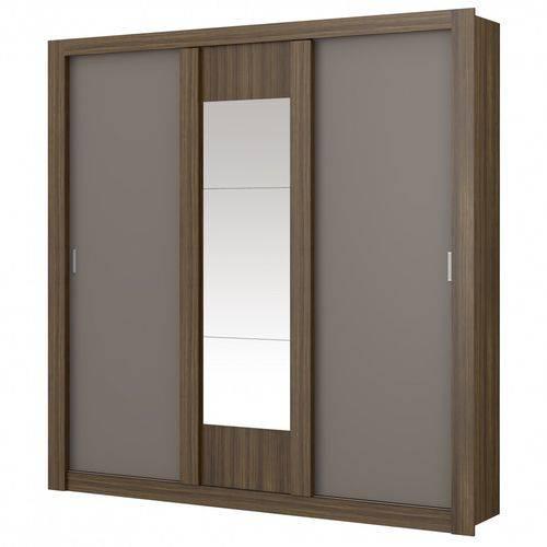 Guarda-roupa Elus 3 Portas 1093 C/ Espelho - Carraro