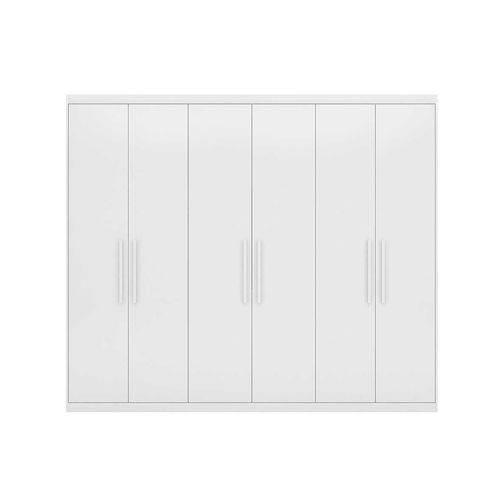 Guarda Roupa Maestro 6 Portas Demobile Branco