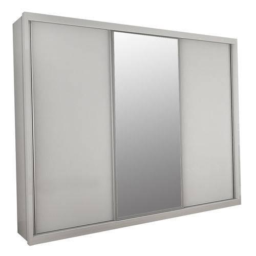 Guarda Roupa Veneza 2 Portas Deslizante e 1 Porta Deslizante com Espelho