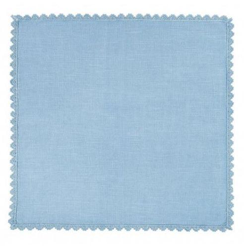 Guardanapo Azul Lace 45cm