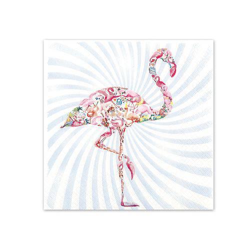 Guardanapo Descartável Decorado Home Fashion HOF211534 Flamingo