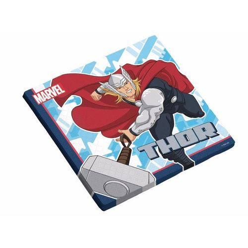 Guardanapo Folha Dupla Avengers Animated 25x25cm - 16 Unidades