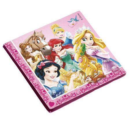 Guardanapo Folha Dupla Princesas Debut - 16 Unidades