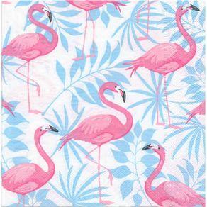Guardanapos Flamingos com 2 Unidades Ref.21008-GUA200452 Toke e Crie