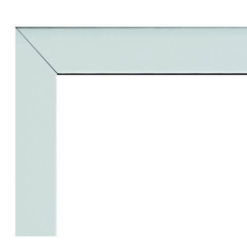 Guarnição em Aluminio para Janela Basculante 60cmx60cm Alumifort Sasazaki Branco