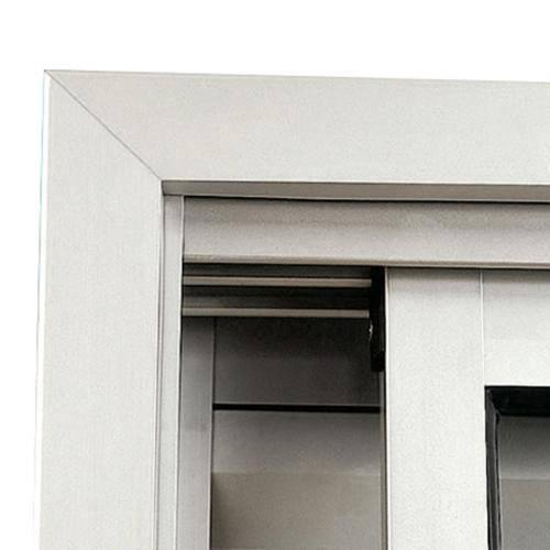 Guarnição em Alumínio para Janela Maxim-Ar Sasazaki 60cm X 80cm Branca Branco