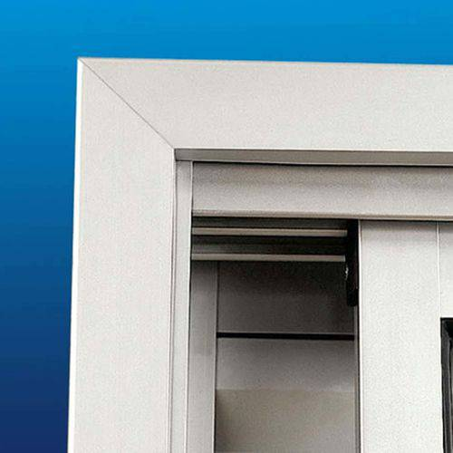 Guarnição em Alumínio Sazazaki 2,18mx2,00m Branco