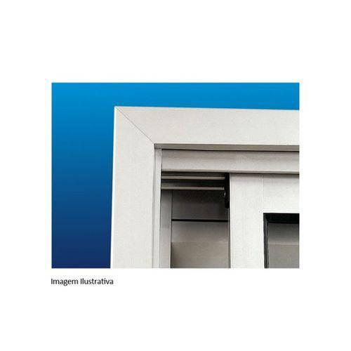 Guarnição para Janela Maxim-ar ou Basculante Alumifort 60x60cm Branca