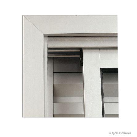 Guarnição para Janelas Maxim-ar Basculante 60x60cm Aluminium Sasazaki