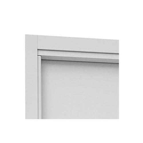 Guarnição para Porta Interna Aluminium 215x78x14cm Branca