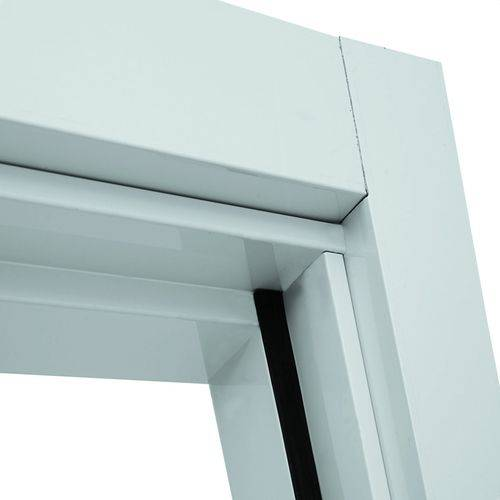 Guarnição Regulável Alumínio para Porta Interna 215cmx78cm Aluminium Sasazaki Branco