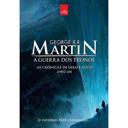 Guerra dos Tronos, a - Livro um - Ed Comemorativa - Leya
