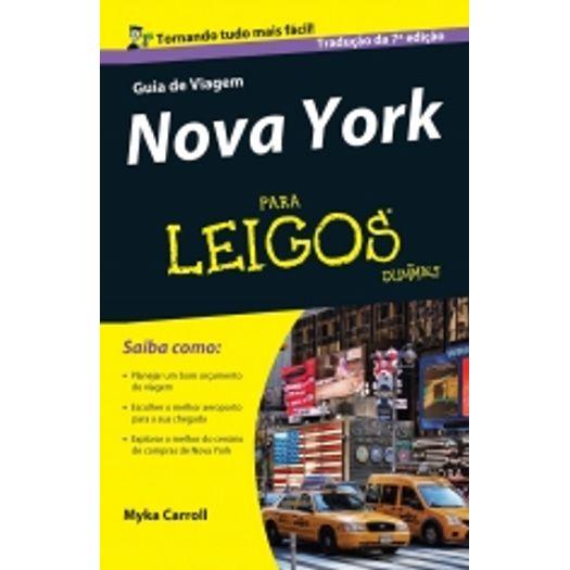 Guia de Viagem Nova York para Leigos - Alta Books