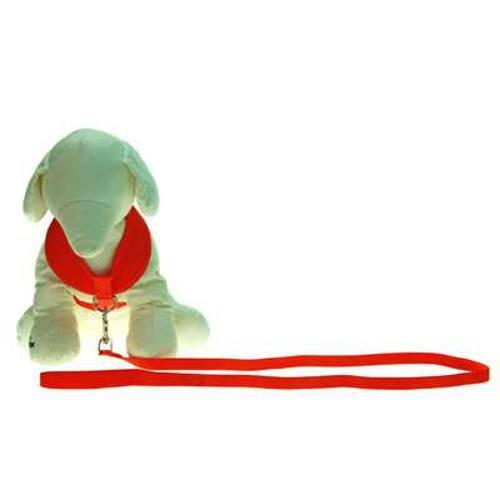 Guia e Peitoral American Pets Confort Laranja - Tam G