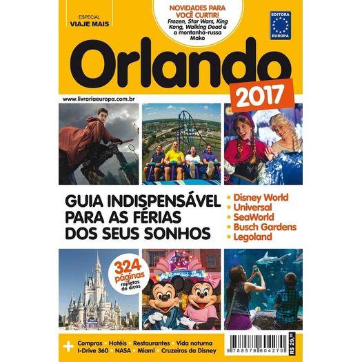 Guia Orlando 2017 - Europa - Ed Antiga