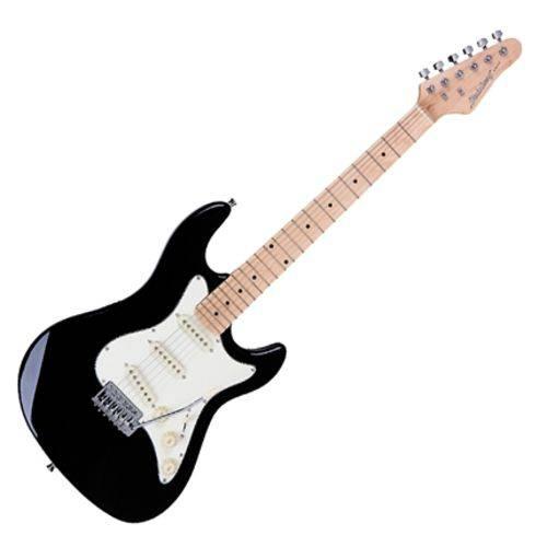 Guitarra Elétrica Strato Sts100 Bk Preto Strinberg