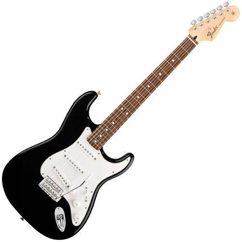Guitarra Fender Standard Stratocaster Escala Rosewood Preta