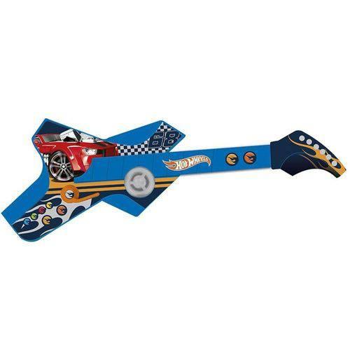 Guitarra Infantil Radical Touch Hot Wheels Azul 8007-3 Fun