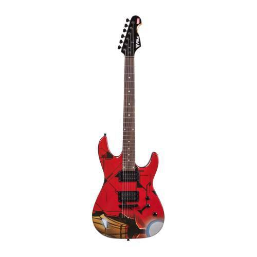 Guitarra Original Marvel Iron Man Gmi-1 - Phoenix