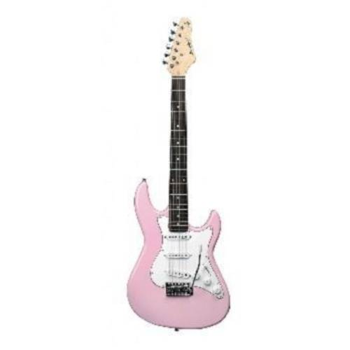 Guitarra Strato Strinberg Egs216 - Rosa