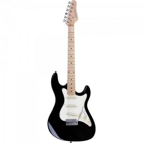 Guitarra Strato Sts-100 Preto Strinberg