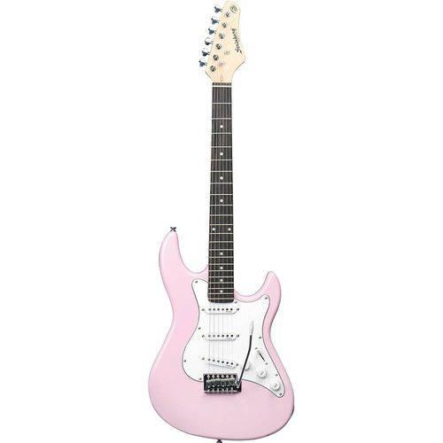 Guitarra Strinberg Egs216 Strato - Rosa