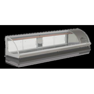 GVRB-210 Vitrine de Bancada Refrigerada Gelopar - 110V - Cinza
