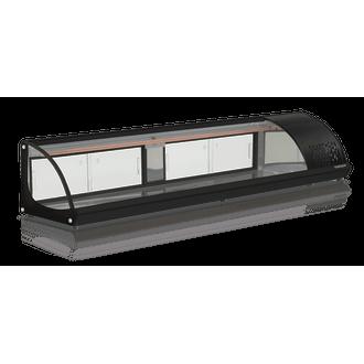 GVRB-210 Vitrine de Bancada Refrigerada Gelopar - 110V - Preto