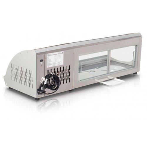 GVRB-120 Vitrine de Bancada Refrigerada Gelopar