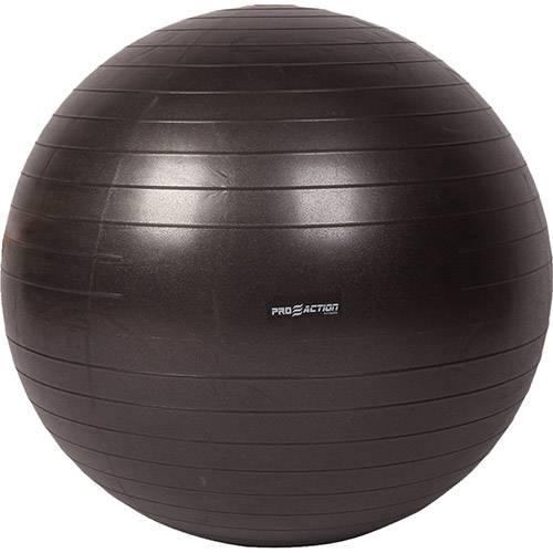 Gym Ball Anti Estouro Proaction 75cm - Preto