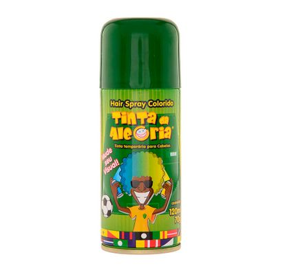 Hair Spray Colorido Verde 120 Ml - Tinta da Alegria