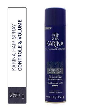 Hair Spray Karina Controle & Volume Fixação Extra Forte 400ml