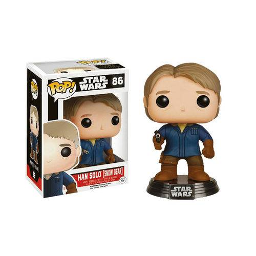 Han Solo Snow Gear 86 Exclusivo Pop Funko Star Wars