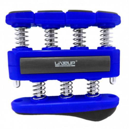 Hand Grip com 7 Molas Tensão Forte Azul Liveup